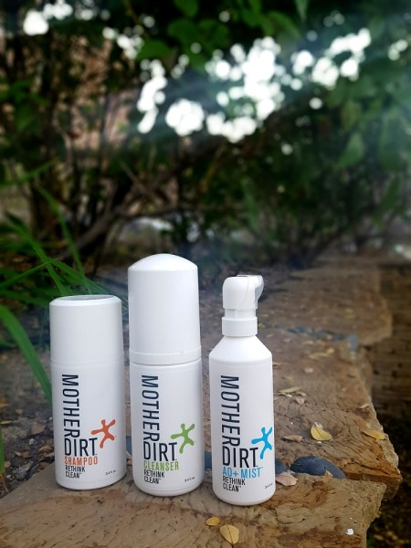 How To Simplify Your Skincare Routine For Camping With Mother Dirt #HealthySkinSolutions