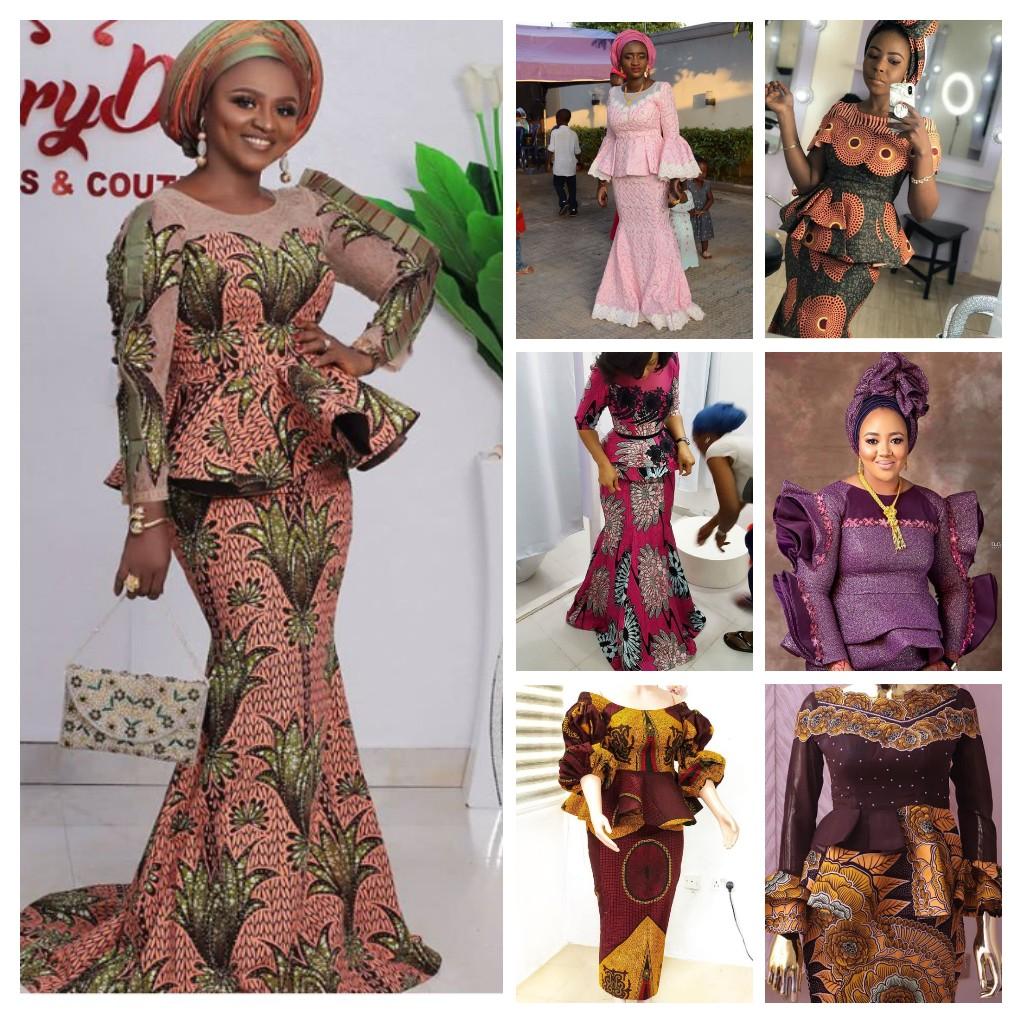 20+ Amazing Skirt and Blouse Styles   Stylish Naija