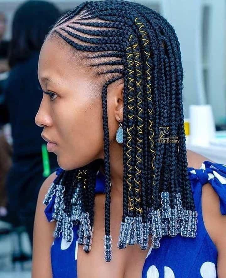 Trending Ghana Braids Hairstyles For Summer Time Slay