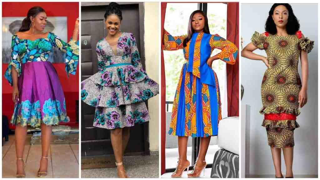 Trending Ankara Short Gown Styles For Smart and Sassy Looks