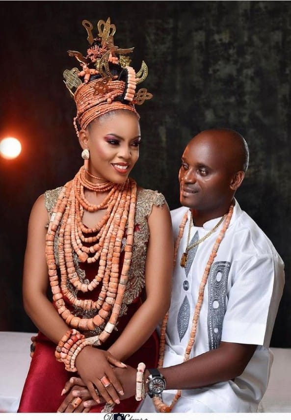 Beautiful and Fascinating Edo Traditional Marriage Attire