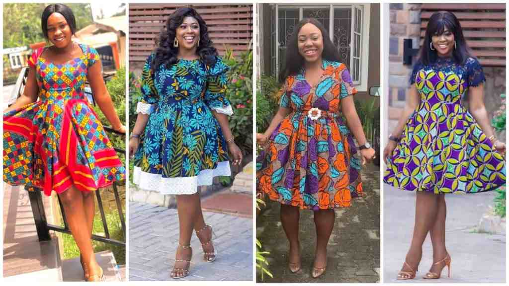 Simple and Stylish Ankara Gowns You Should Try Out