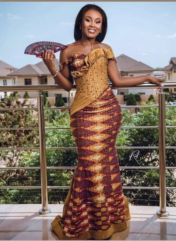 Gorgeous and Fabulous Kente Styles for Stylish Ladies