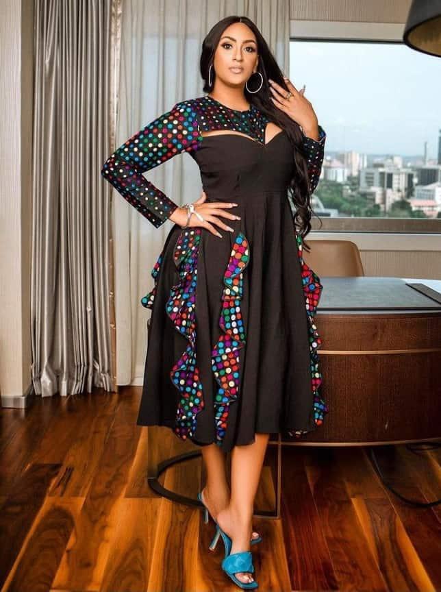 30 Ways to Combine Ankara with Plain Black Colour Fabric