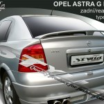 For Version 2 Opel Vauxhall Astra G Estate Spoiler Cover Wing Door Vehicle Parts Accessories Car Tuning Styling Parts