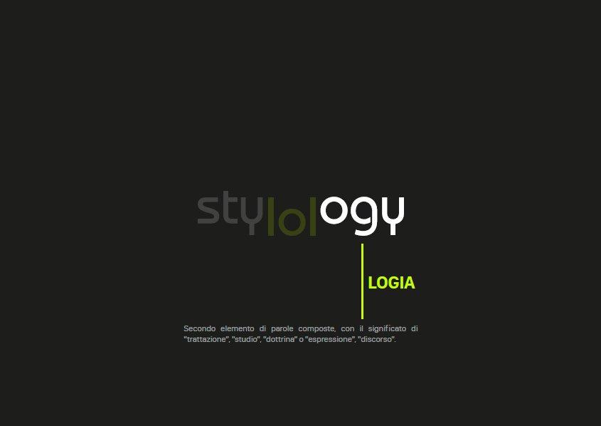 Stylology.it post manifesto