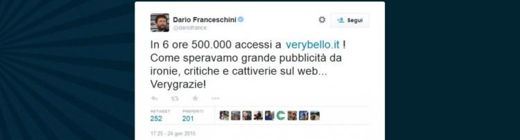 Dario Franceschini Twitter
