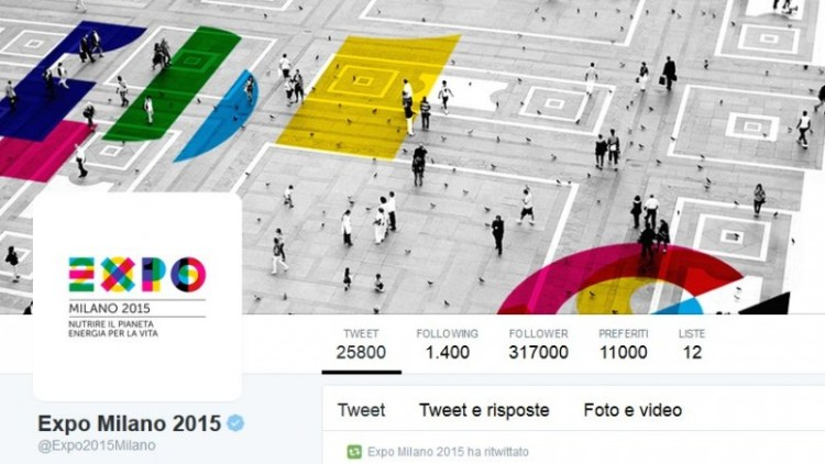 Account Twitter Expo 2015