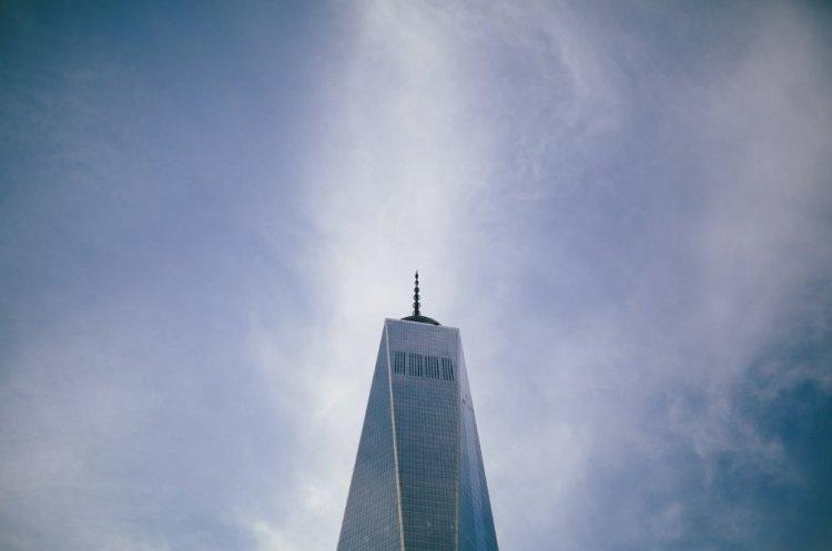 One World Trade Center 11 settembre 2001