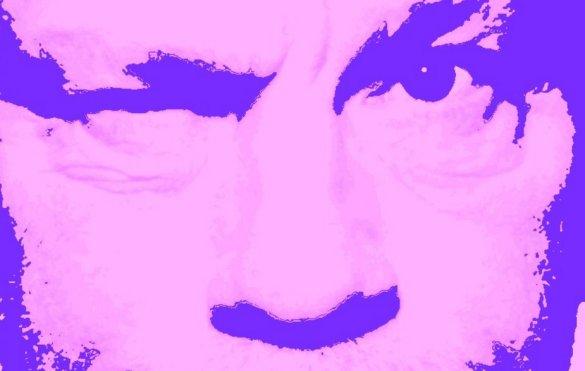 John Malkovich Pink PopArt