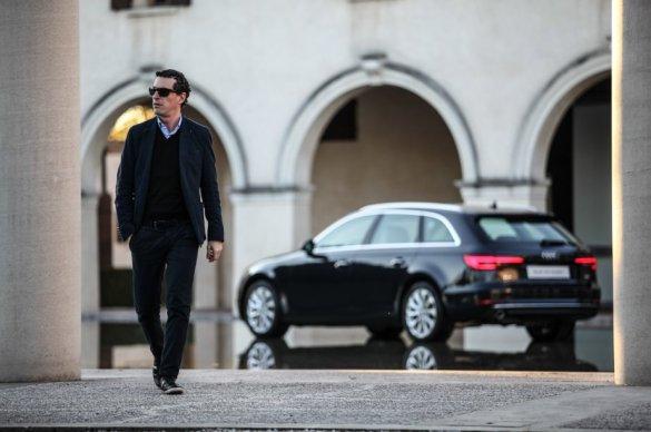 Audi A4 Avant with Silvio De Rossi