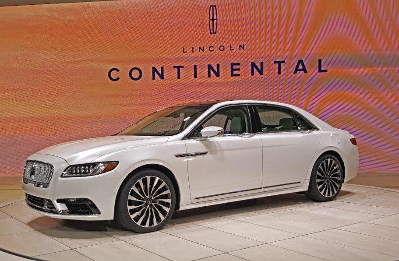 Lincoln Continental: il grande ritorno al Naias 2016