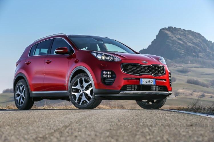 iF Design Awards Kia Sportage