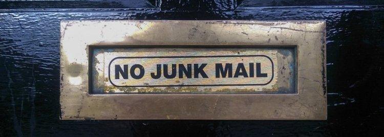 Spam o Junk Mail (Photo free Pixabay)