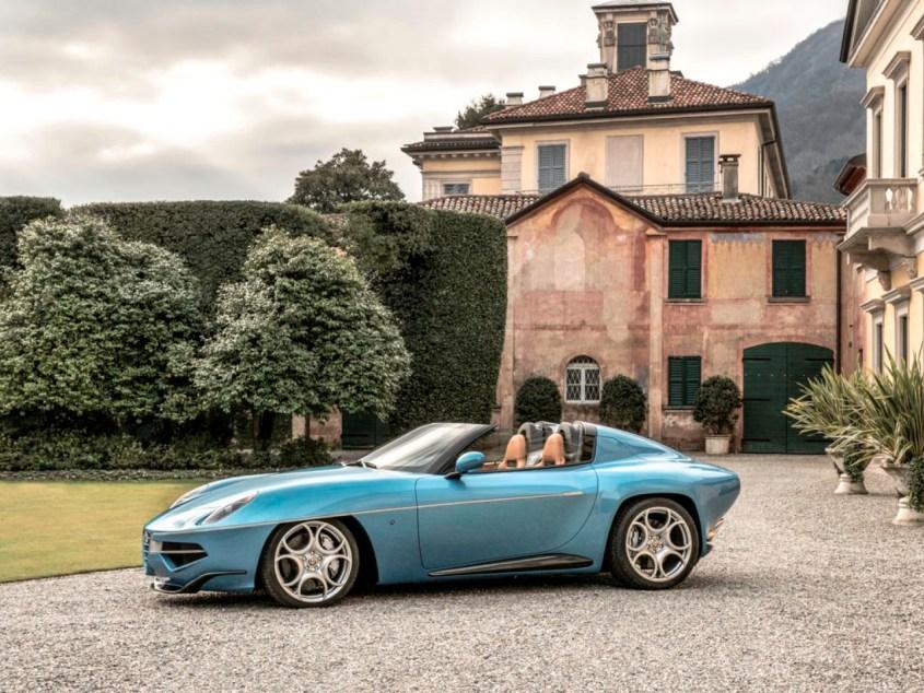 Alfa Romeo Disco Volante Spyder by Touring 2016