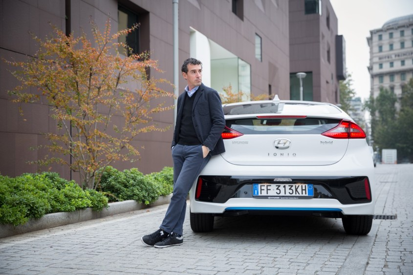 Hyundai IONIQ - photo Stylology.it with Silvio De Rossi by Valentina Melzi