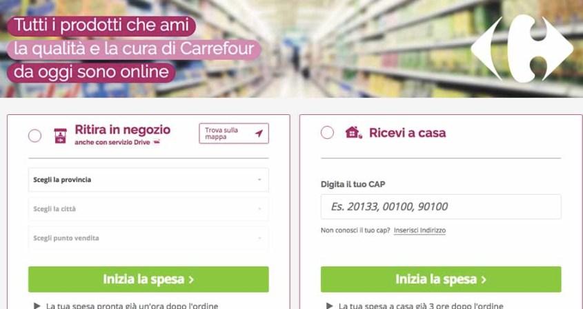 #OreSpeseBene: la spesa online con Carrefour Italia