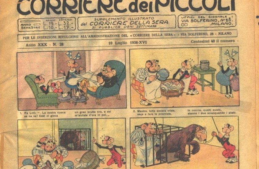 Corriere dei Piccoli: la nascita del primo fumetto italiano