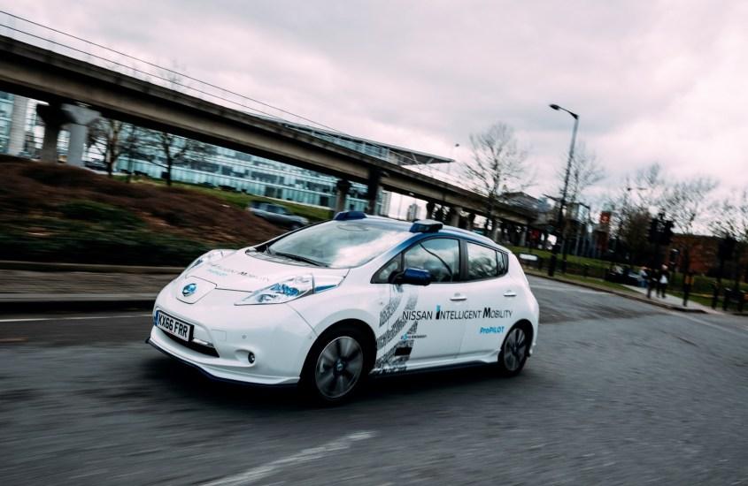 Nissan Intelligent Mobility: i primi test su strada in Europa