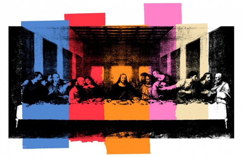 Sixty Last Supper: le 60 Ultime cene di Andy Warhol