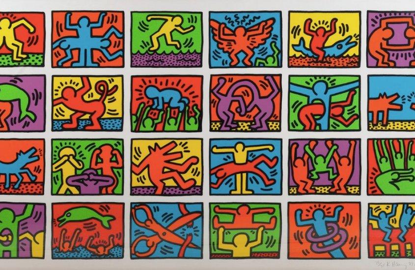 About Art: un viaggio coloratissimo tra gli omini di Keith Haring