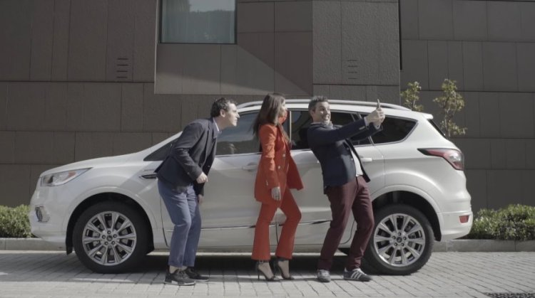 Ford Kuga Vignale Milano Design Week