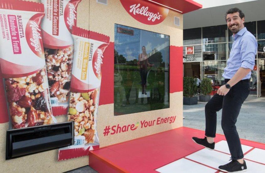 Kellogg's Barrette in Tour: fare del bene con un po' di energia