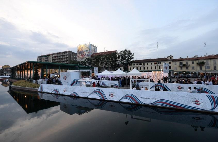 Williams MARTINI Racing in Darsena a Milano: il lato glamour della F1