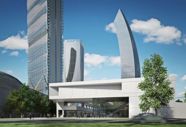 CityLife quarta e quinta torre