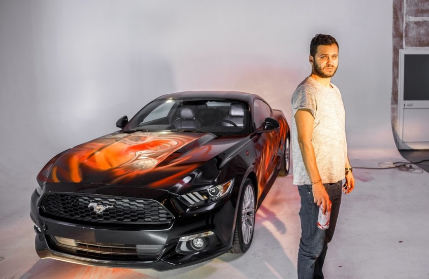 Ford Mustang #FightTheDarkness al Lucca Comics and Games