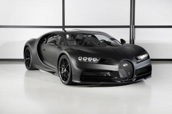 Bugatti Chiron Edition Noire Sportive cover