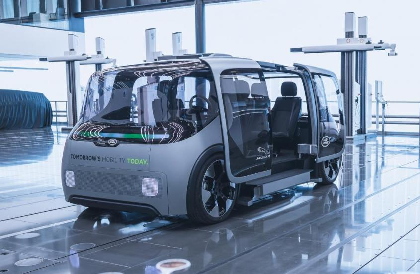 Project Vector, il pulmino elettrico a guida autonoma di Jaguar Land Rover