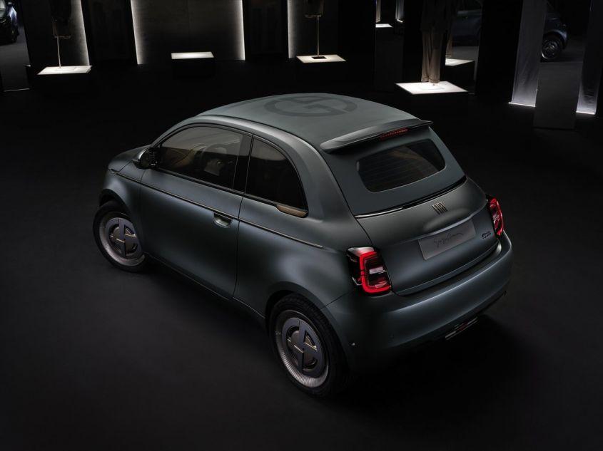 Fiat 500 elettrica by Armani