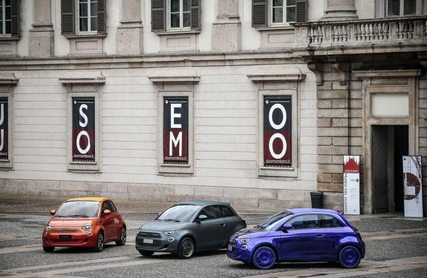 Fiat 500 elettrica: Bulgari, Armani e Kartell, le tre modaiole esclusive