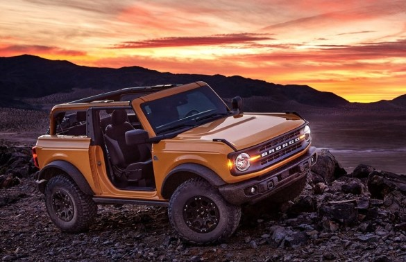 nuovo Ford Bronco
