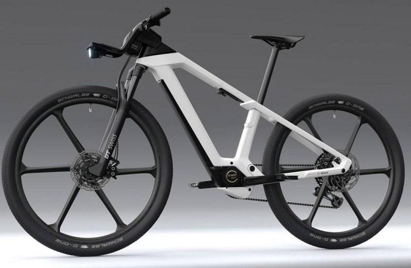 """e-bike Design Vision: Bosch pensa alla bici elettrica """"ideale"""""""