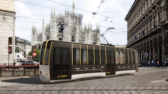 tram passerella