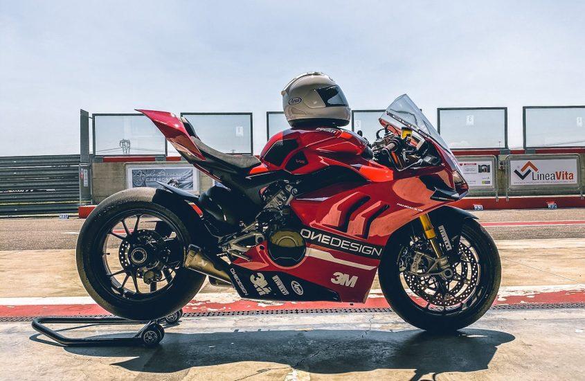 ONEDESIGN con 3M per la sicurezza e il confort dei motociclisti