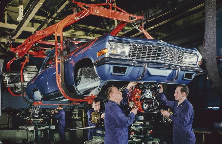 Stabilimento Opel di Rüsselsheim, i 70 anni dalla ricostruzione post-bellica