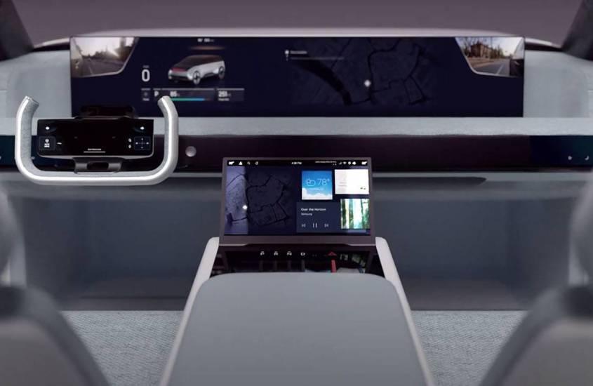 Digital Cockpit, Samsung immagina l'auto del futuro al CES 2021