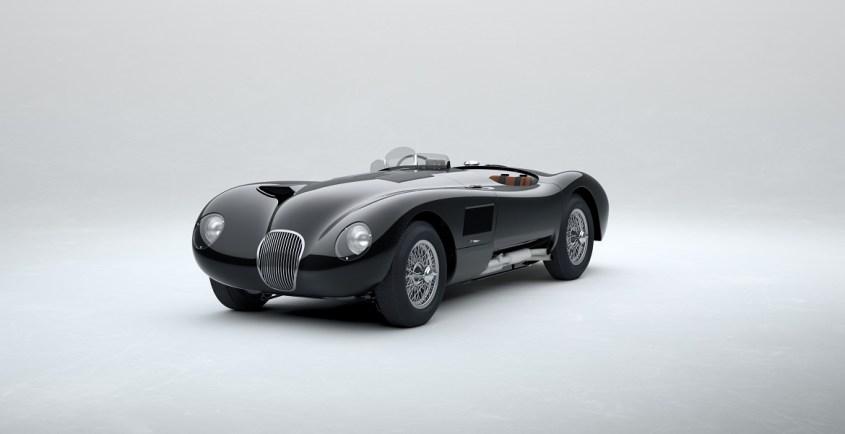 jaguar classic c-type belugablack