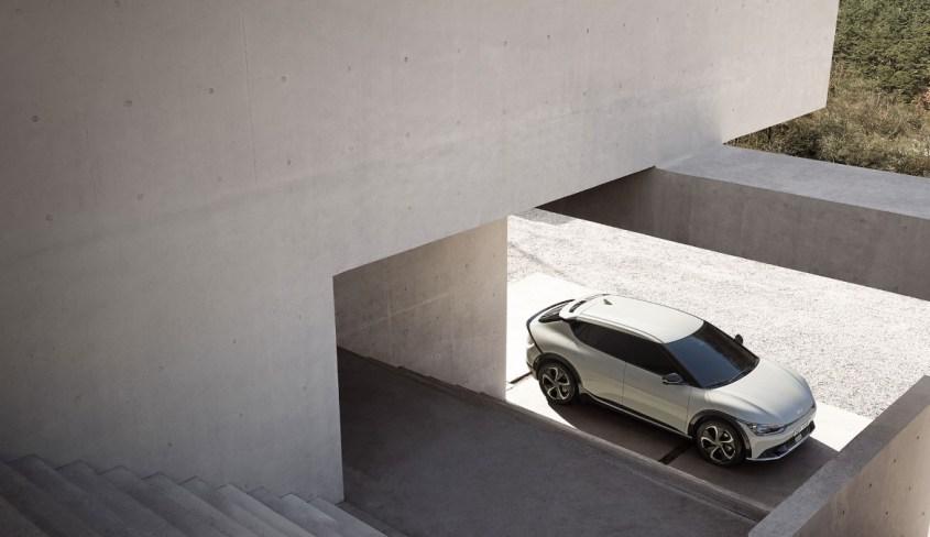 Kia EV6 profilo alto