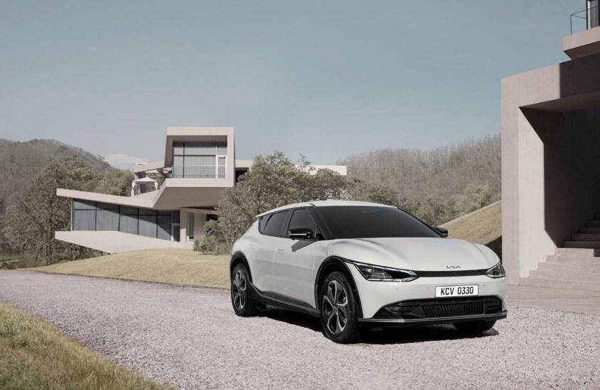 Kia EV6: una nuova filosofia di design svela l'elettrica nativa