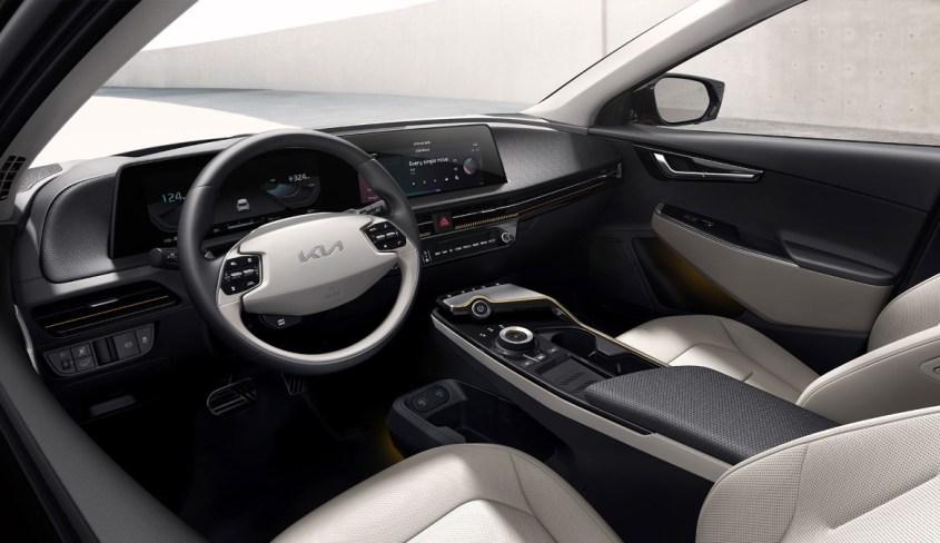 Kia EV6 interni