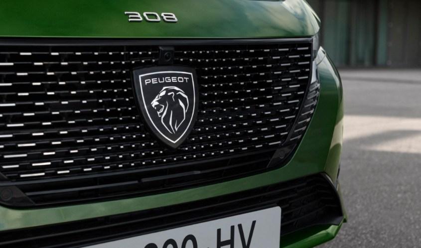 nuova Peugeot 308 logo Leone