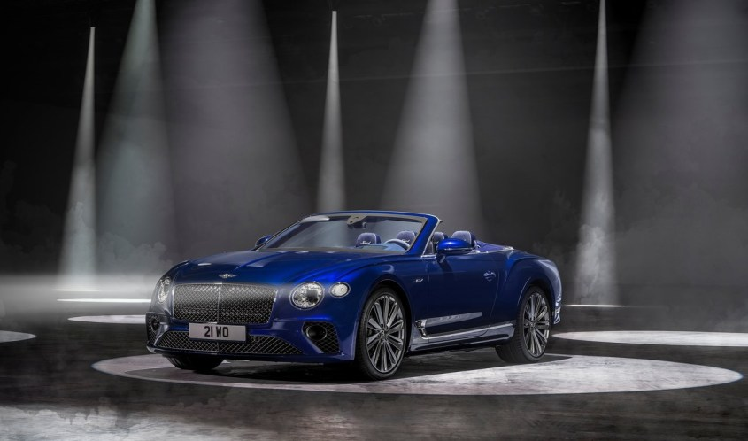 Bentlet Continental GT Speed Convertible