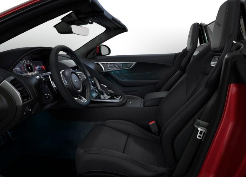 Jaguar F-Type R-Dynamics Black interni
