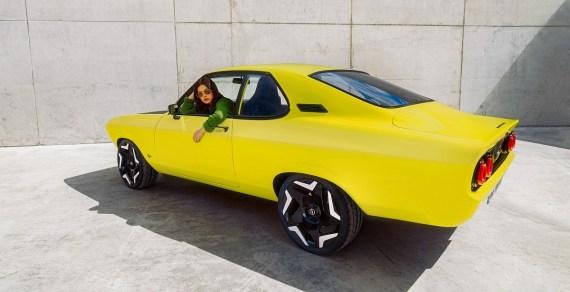 Opel Manta elettrica