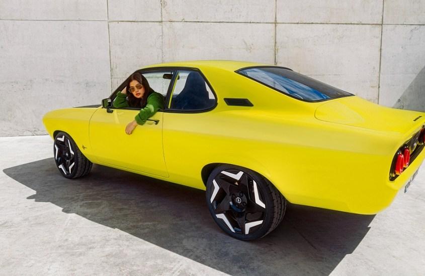 Opel Manta, un ritorno inedito 100% elettrica