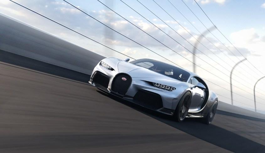 Bugatti Chiron Super Sport frontale